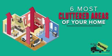 6 Most Cluttered Areas Of Your Home