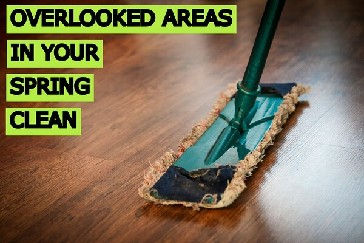 Overlooked Areas in Spring Cleaning Blog Cover